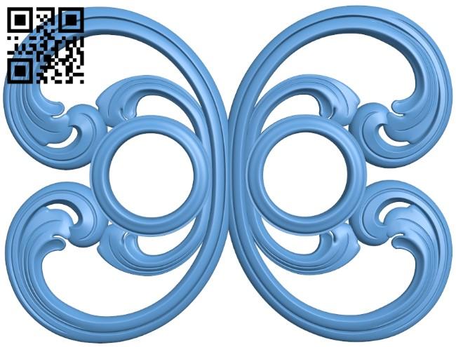 Pattern decor design A006521 download free stl files 3d model for CNC wood carving