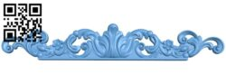 Pattern decor design A006523 download free stl files 3d model for CNC wood carving