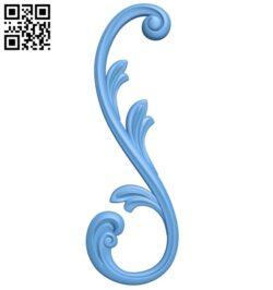 Pattern decor design A006525 download free stl files 3d model for CNC wood carving