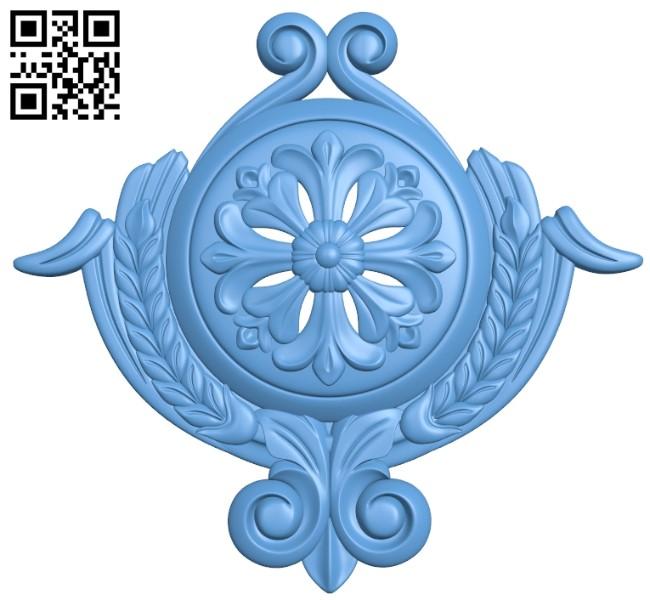 Pattern decor design A006528 download free stl files 3d model for CNC wood carving