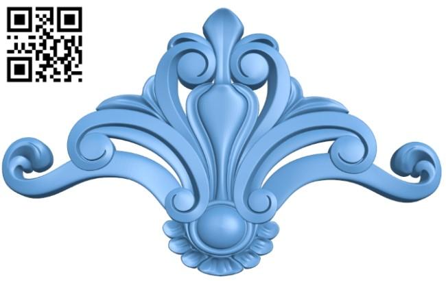 Pattern decor design A006529 download free stl files 3d model for CNC wood carving