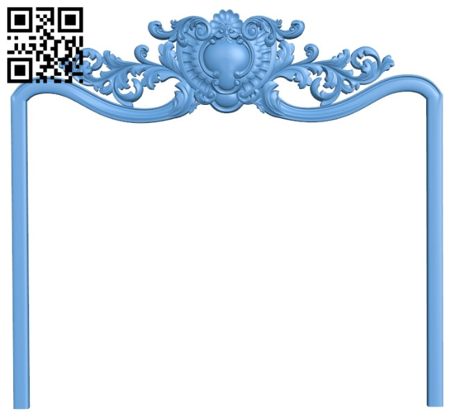 Picture frame or mirror A006540 download free stl files 3d model for CNC wood carving