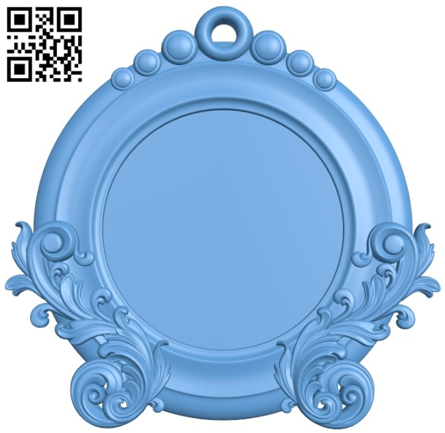 Picture frame or mirror A006544 download free stl files 3d model for CNC wood carving