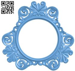 Picture frame or mirror A006545 download free stl files 3d model for CNC wood carving