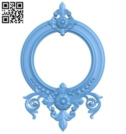 Picture frame or mirror A006546 download free stl files 3d model for CNC wood carving