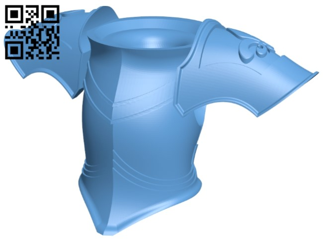 Sci fi armor B009551 file stl free download 3D Model for CNC and 3d printer