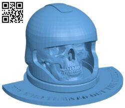 Skull B009573 file stl free download 3D Model for CNC and 3d printer