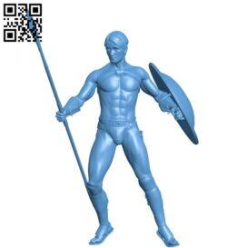 Spartan – man B009542 file stl free download 3D Model for CNC and 3d printer