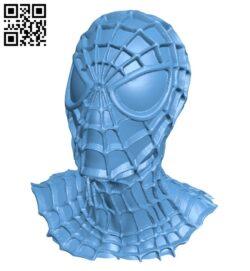 Spider man black icz – Bust B009568 file stl free download 3D Model for CNC and 3d printer