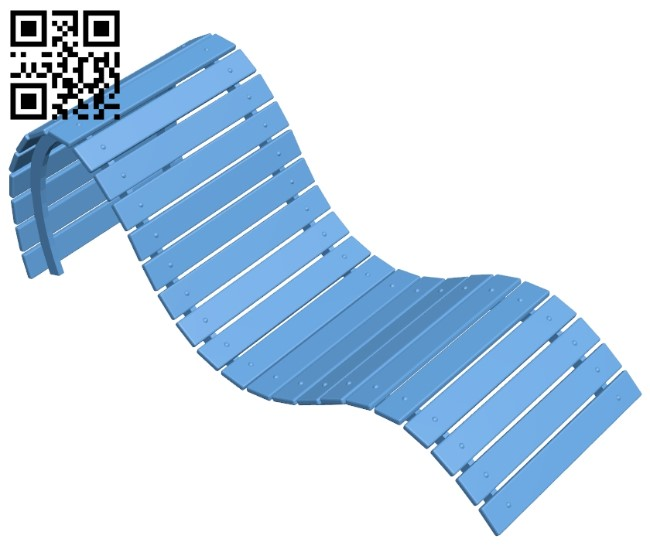 Sun chair B009546 file stl free download 3D Model for CNC and 3d printer