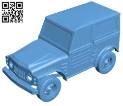 Suzuki LJ 80 truck B009553 file stl free download 3D Model for CNC and 3d printer