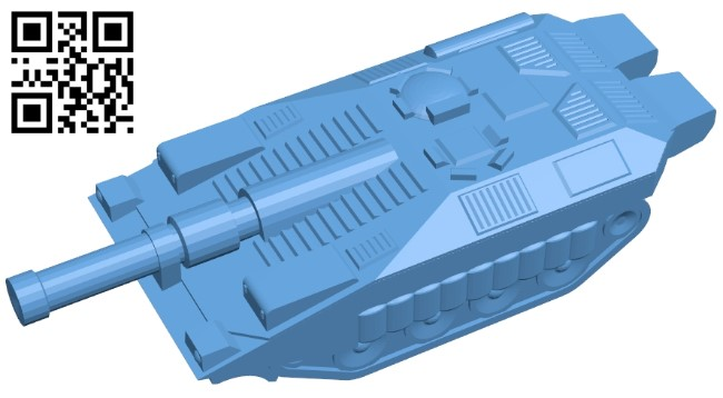 Tank Stridsvagn 103C B009593 file stl free download 3D Model for CNC and 3d printer