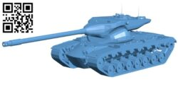 Tank T57 B009560 file stl free download 3D Model for CNC and 3d printer