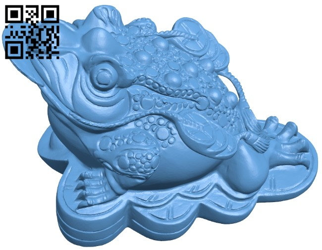 Toad B009569 file stl free download 3D Model for CNC and 3d printer