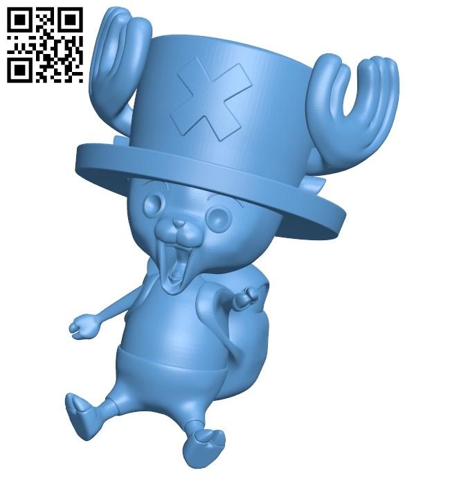 Tony Tony Chopper B009594 file stl free download 3D Model for CNC and 3d printer