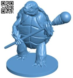 Tortle wizard B009597 file stl free download 3D Model for CNC and 3d printer