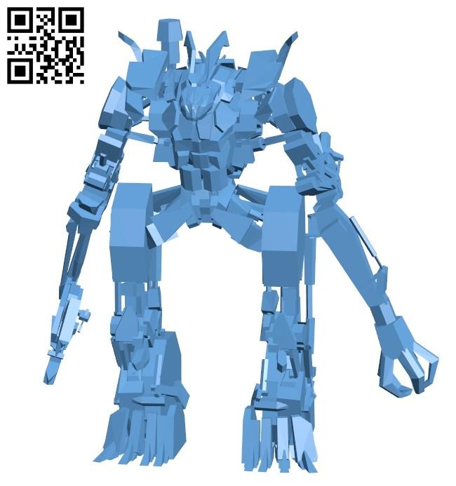 Transformers Scrapper B009586 file stl free download 3D Model for CNC and 3d printer
