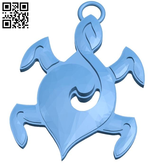 Troll pendant B009595 file stl free download 3D Model for CNC and 3d printer