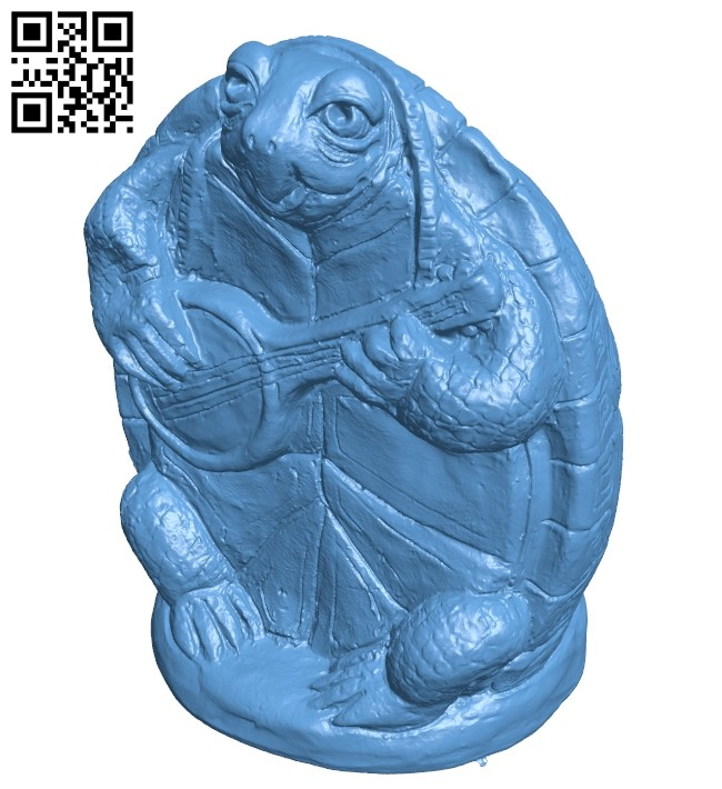 Turtle B009544 file stl free download 3D Model for CNC and 3d printer