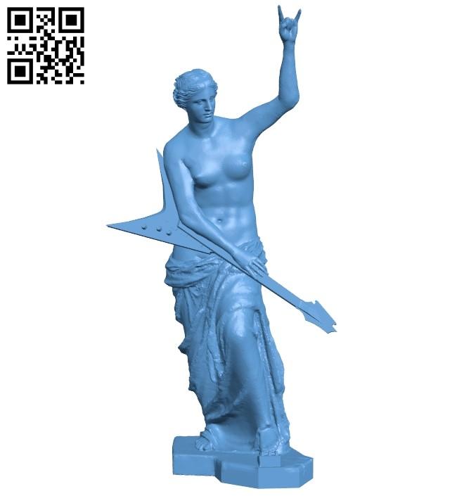 Venus de metal B009561 file stl free download 3D Model for CNC and 3d printer