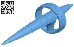 Vulcan suurok  – ship B009562 file stl free download 3D Model for CNC and 3d printer
