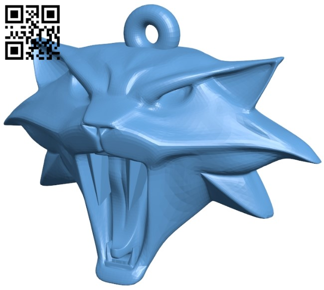 Witcher cat B009537 file stl free download 3D Model for CNC and 3d printer