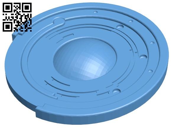 10 Strange coins from Destiny H000051 file stl free download 3D Model for CNC and 3d printer