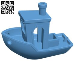 3DBenchy – Ship H000164 file stl free download 3D Model for CNC and 3d printer