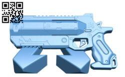 Apex Legends Wingman – Gun H000226 file stl free download 3D Model for CNC and 3d printer