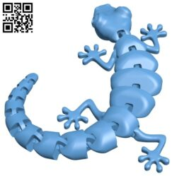 Articulated Lizard H000191 file stl free download 3D Model for CNC and 3d printer