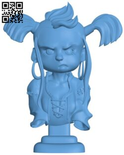 Baby Viking H000092 file stl free download 3D Model for CNC and 3d printer