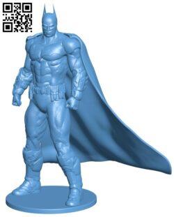 Batman – superhero H000082 file stl free download 3D Model for CNC and 3d printer