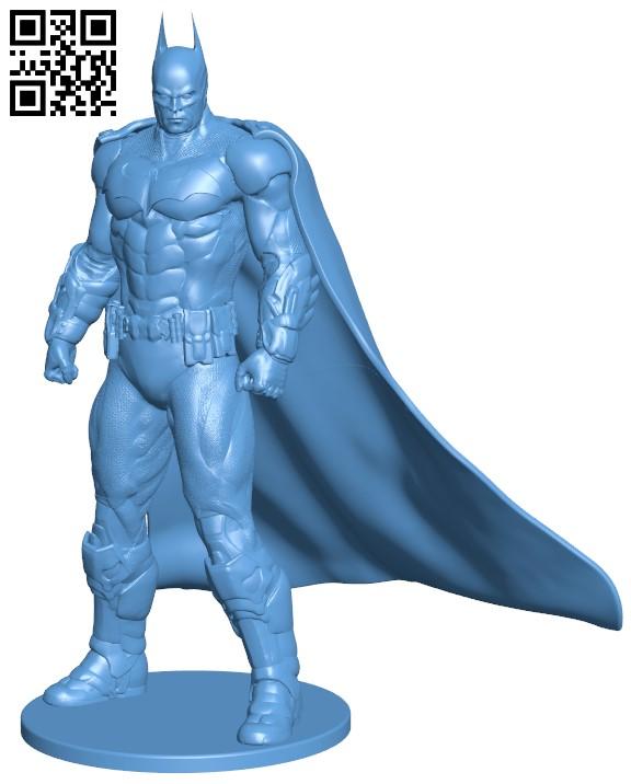 Batman H000082 file stl free download 3D Model for CNC and 3d printer