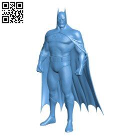 Batman – Superhero H000255 file stl free download 3D Model for CNC and 3d printer