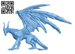Black Dragon H000171 file stl free download 3D Model for CNC and 3d printer