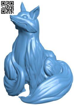 Blink Fox H000136 file stl free download 3D Model for CNC and 3d printer