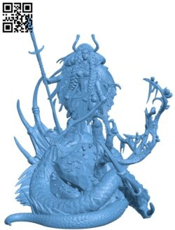 Bone Manuscript. Dragon Knight H000107 file stl free download 3D Model for CNC and 3d printer