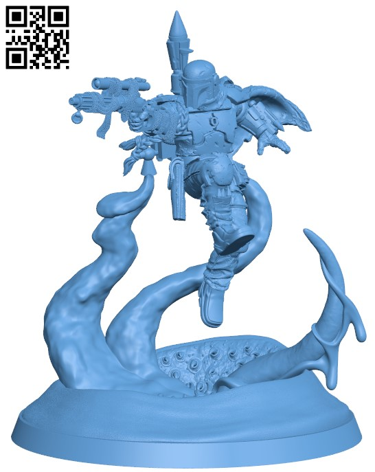 Bounty Hunter H000093 file stl free download 3D Model for CNC and 3d printer