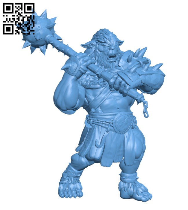 Bugbear - Monster H000469 file stl free download 3D Model for CNC and 3d printer