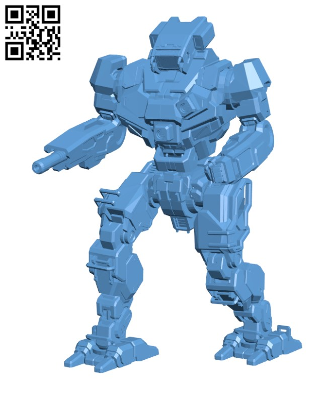CLNT-2-3T Clint BN Edition for Battletech H000471 file stl free download 3D Model for CNC and 3d printer