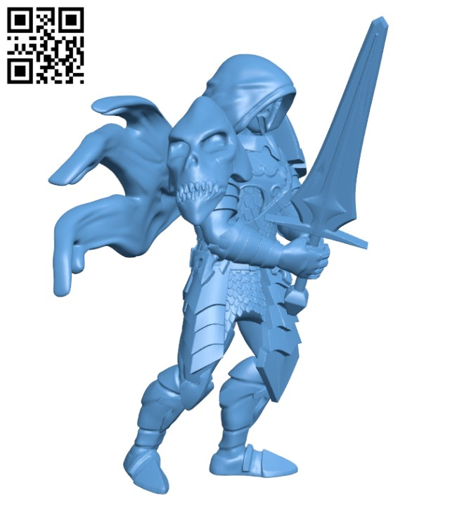 Chaos Order - Sentinel H000473 file stl free download 3D Model for CNC and 3d printer