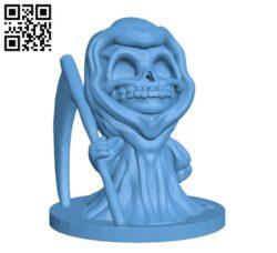 Chibi Grim H000430 file stl free download 3D Model for CNC and 3d printer