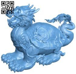 Chinese turtle B009617 file stl free download 3D Model for CNC and 3d printer