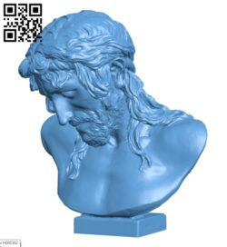 Christ on the Crucifix H000362 file stl free download 3D Model for CNC and 3d printer
