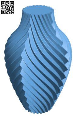 Chromatic Vase H000174 file stl free download 3D Model for CNC and 3d printer