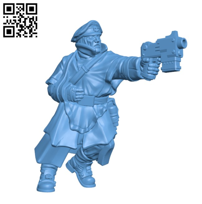 Comissar H000389 file stl free download 3D Model for CNC and 3d printer