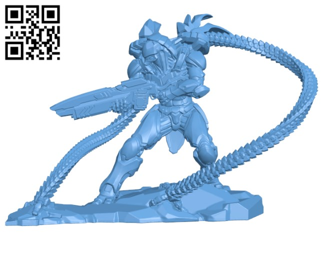 Cyborg H000274 file stl free download 3D Model for CNC and 3d printer