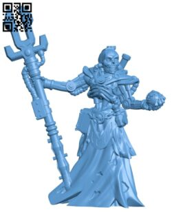Cyborg lich H000196 file stl free download 3D Model for CNC and 3d printer