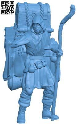Dark Merchant H000110 file stl free download 3D Model for CNC and 3d printer