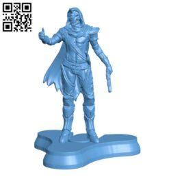 Destiny 2 – Cayde 6 H000262 file stl free download 3D Model for CNC and 3d printer